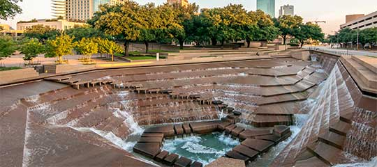 Fort Worth Fountain